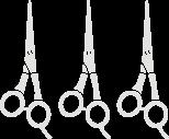 scissors cosmetic