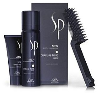 Wella SP Men Gradual tone black 60ml + 30ml