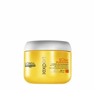 L'Oréal Professionnel Solar Sublime Masque 200ml l or al professionnel   περιποιηση   για ευαισθητοποιημένα μαλλιά αναδόμηση   l
