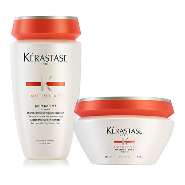 Kérastase NUTRITIVE OFFER(BAIN SATIN 1 250ML+MASQUINTENSE EPAIS/ΧΟΝΔΡΑ 200ML) christmas offers   k rastase   nutritive   περιποίηση   ξηρά και ευαισθητοποιημέ