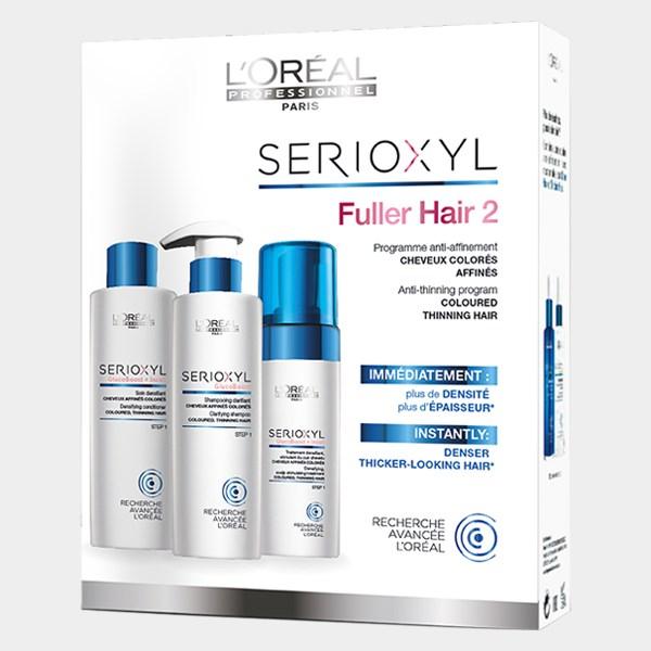L'Oréal Professionnel Serioxyl kit 2 Για Βαμμένα Μαλλιά(Σαμπουάν 250ml+ Cοnditio l or al professionnel   περιποιηση   για υγιές τριχωτό   l or al professionnel s