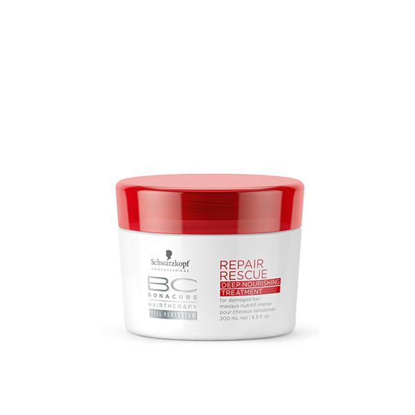 Schwarzkopf BC REPAIR RESCUE DEEP NOURISHING TREATMENT 200ml schwarzkopf   περιποιηση   ταλαιπωρημένα εξασθενημένα μαλλιά   σειρα προϊοντων