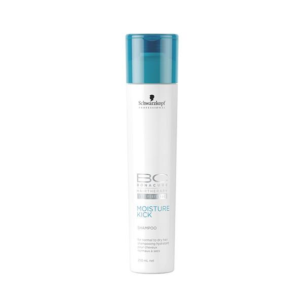 Schwarzkopf BC Moisture Kick Shampoo 250ml schwarzkopf   περιποιηση   κανονικά έως ξηρά μαλλιά σγουρά   bc moisture kick