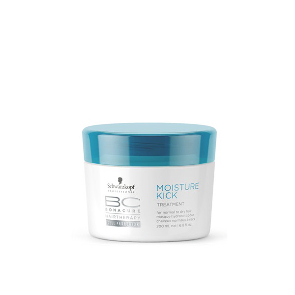 Schwarzkopf BC Moisture Kick Treatment 200ml schwarzkopf   περιποιηση   κανονικά έως ξηρά μαλλιά σγουρά   bc moisture kick
