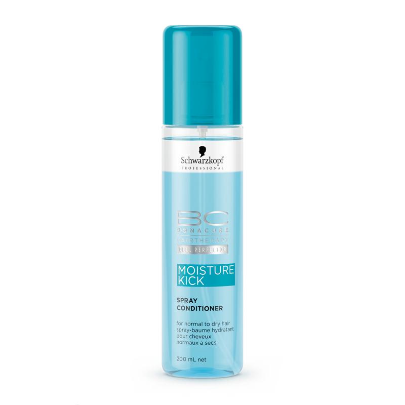 Schwarzkopf BC Moisture Kick Spray Conditioner 200ml schwarzkopf   περιποιηση   κανονικά έως ξηρά μαλλιά σγουρά   bc moisture kick