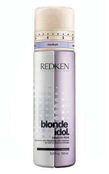 Redken Blonde Idol Custom-Tone Conditioner 196ml redken   περιποιηση   ξανθά μαλλιά   blonde idol