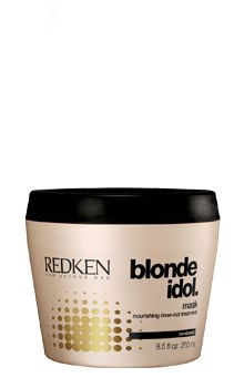 Redken Blonde Idol Mask 250ml redken   περιποιηση   ξανθά μαλλιά   blonde idol