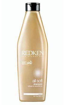 Redken All Soft Shampoo 300ml redken   σαμπουάν redken   περιποιηση   απαλότητα  amp  ενυδάτωση   all soft