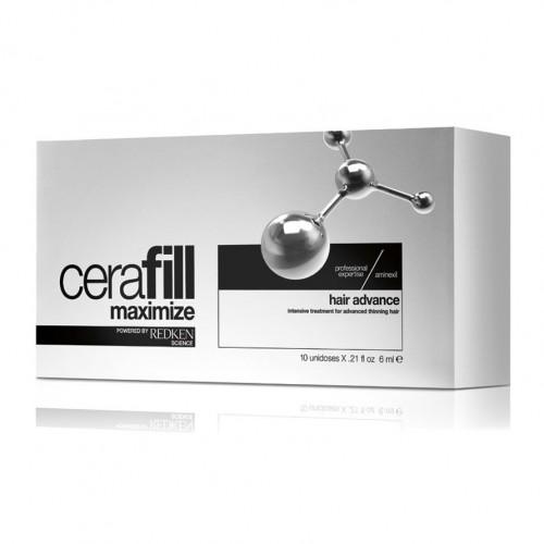 Redken Cerafill Maximize Hair Advance αμπούλες 10Χ6ml redken   περιποιηση   αραίωση   cerafill