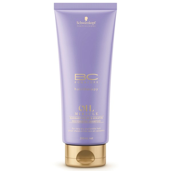 Schwarzkopf BC OIL MIRACLE BARBARY FIG OIL SHAMPOO 200ML schwarzkopf   περιποιηση   ταλαιπωρημένα εξασθενημένα μαλλιά   bc oil miracle