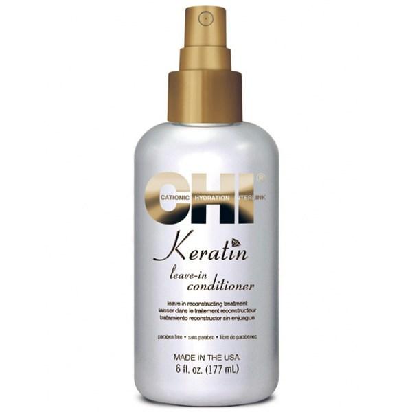 CHI Keratin Leave-In Conditioner 177ml chi   περιποιηση   αναδόμηση επανόρθωση   keratin