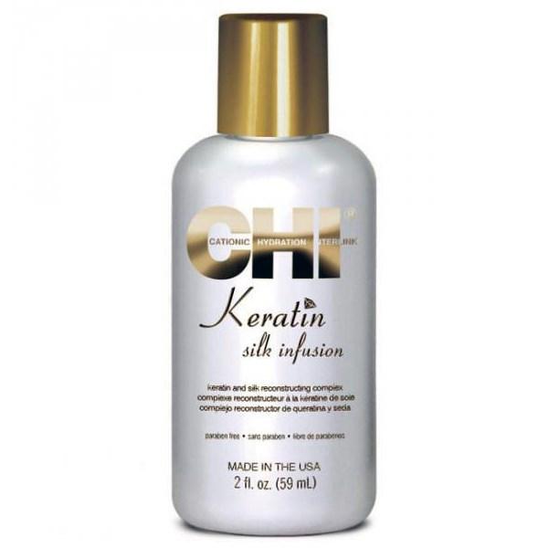 CHI Keratin Silk Infusion 59ml chi   περιποιηση   αναδόμηση επανόρθωση   keratin