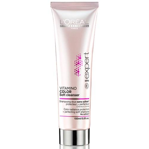 L'Oréal Professionnel Vitamino Color Soft Cleanser Shampoo 150ml l or al professionnel   περιποιηση   βαμμένα μαλλιά   l or al professionnel vita