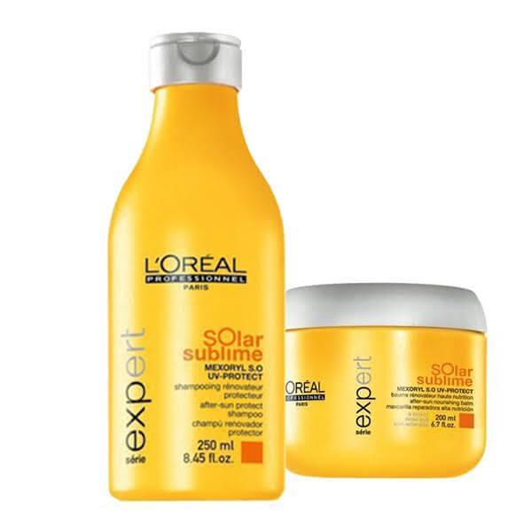 L'Oréal Professionnel Solar Sublime Offer(Σαμπουάν250ml+Μάσκα200ml) l or al professionnel   περιποιηση   για όλους τους τύπους μαλλιών θρέψη λάμψη π