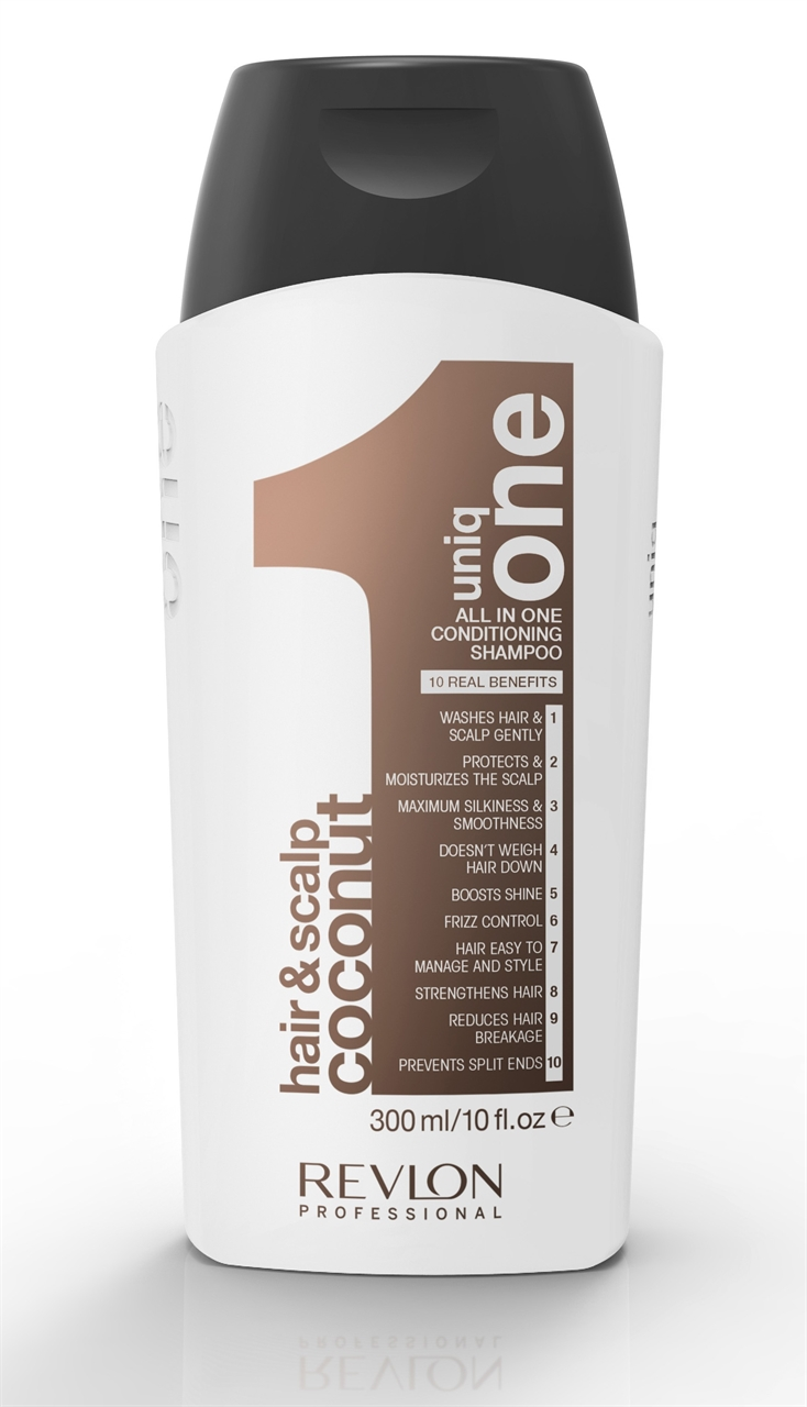 Uniq One All in One Conditioning Shampoo Coconut 300ml uniq one revlon   περιποίηση