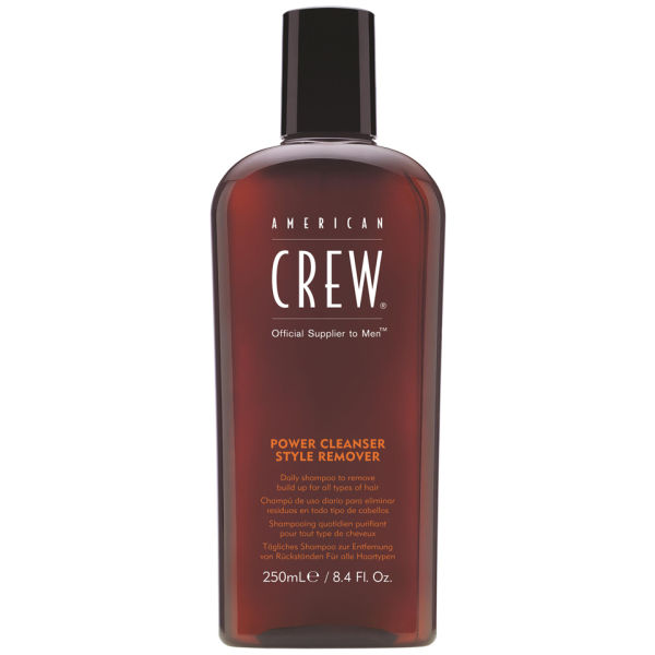 American crew power cleanser style remover shampoo 250ml american crew   περιποιηση