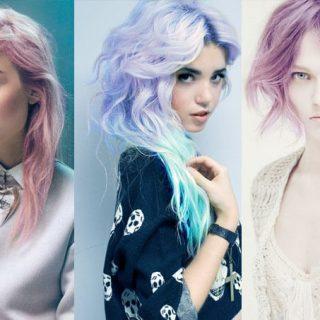 τάσεις σε χρώμα μαλλιών