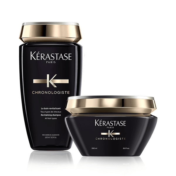 Kérastase Chronologiste offer (Σαμπουάν 250ml+Μάσκα 200ml) k rastase   chronologiste   περιποίηση   για όλους τους τύπους μαλλιών θρέψη και