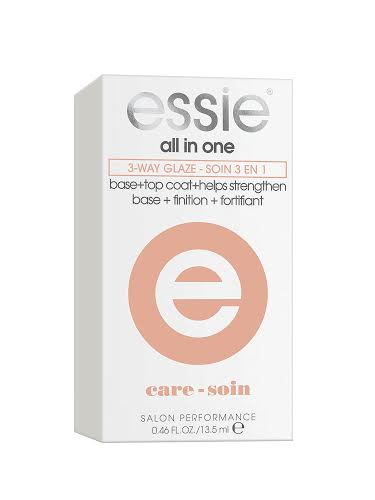 essie all in one 3 way glaze 13.5ml περιποίηση νυχιών essie   essie   περιποίηση νυχιών