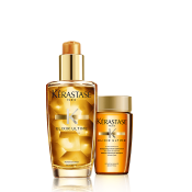 KERASTASE ELIXIR ULTIME OFFER (ΕΛΑΙΟ 100ML +ΣΑΜΠΟΥΑΝ 80ML ) k rastase   elixir ultime   για όλους τους τύπους μαλλιών θρέψη και λάμψη