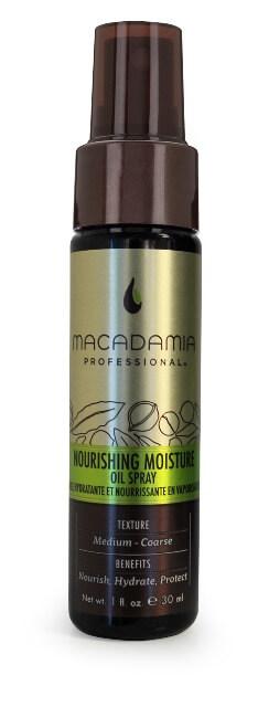 Macadamia Professional Nourishing Moisture Oil Spray 30ml macadamia   έλαια   professional nourishing   περιποίηση   λεπτά μαλλιά   ξηρά