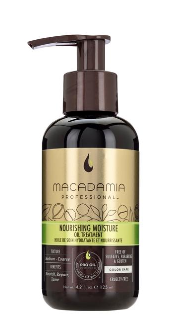 Macadamia Professional Nourishing Moisture Oil Treatment 125ml macadamia   έλαια   professional nourishing   περιποίηση   για όλους τους τύπους