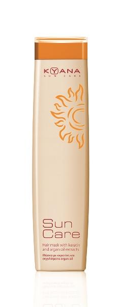 KYANA SUN CARE HAIR MASK WITH KERATIN AND ARGAN OIL 250ML kyana   περιποιηση   για όλους τους τύπους μαλλιών   σειρα προιοντων   sun care