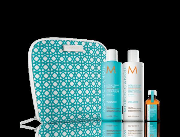 Moroccanoil Volume Collection(shampoo 250ml conditioner 250ml Oil Treatment 25ml λεπτά μαλλιά   περιποιηση   moroccanoil