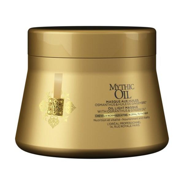L'Oréal Professionnel Mythic Oil Masque Για Λεπτά Προς Κανονικά Μαλλιά 200ml l or al professionnel   περιποιηση   για όλους τους τύπους μαλλιών θρέψη λάμψη π