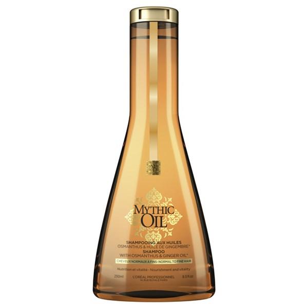 L'Oréal Professionnel Mythic Oil Shampoo Για Λεπτά Προς Κανονικά Μαλλιά 250ml l or al professionnel   περιποιηση   για όλους τους τύπους μαλλιών θρέψη λάμψη π