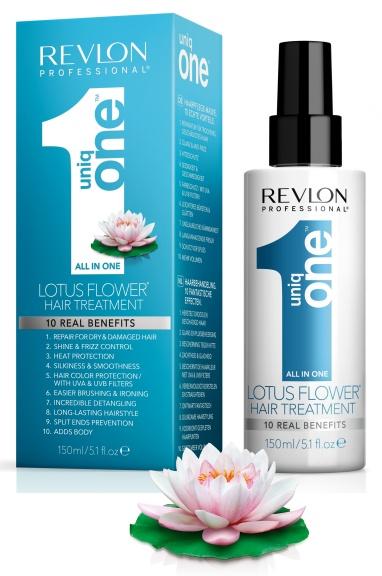 Uniq One All in One Hair Treatment Lotus Edition 150ml uniq one revlon   περιποίηση