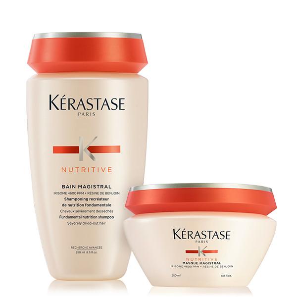 Kérastase Nutritive Offer ( Bain Magistral 250ml + Masque Magistral 200ml ) k rastase   nutritive   περιποίηση   ξηρά και ευαισθητοποιημένα μαλλιά μπούκλες