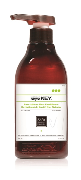 Saryna Key Volume Lift Pure African Shea Treatment Conditioner 300ml saryna key   volume lift   περιποίηση