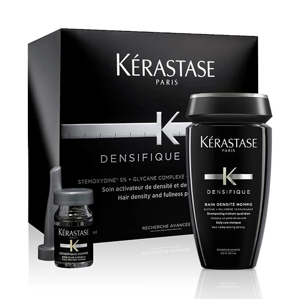 Kérastase Densifique Homme Offer( σαμπουάν 250ML+αμπούλες 30ΤΕΜ) k rastase   densifique   homme   περιποίηση   ανδρική σειρά   λεπτά χωρίς όγκο μ