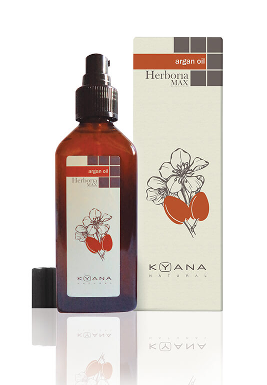 Kyana Herboria Max Argan Oil 100ml kyana   περιποιηση   για όλους τους τύπους μαλλιών   herboria max