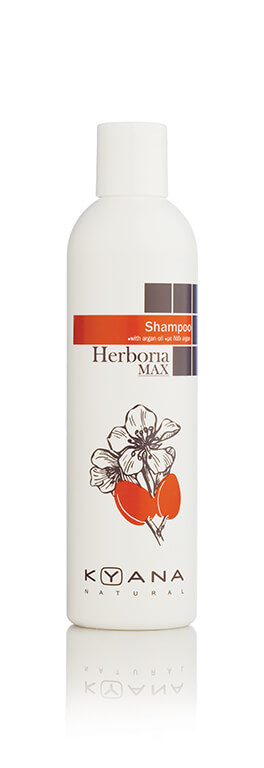 Kyana Herboria Max Argan Oil Shampoo 250ml kyana   περιποιηση   ταλαιπωρημένα μαλλιά   αναδόμηση   herboria max