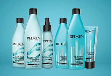 Redken Volume High Rise & Beach Envy