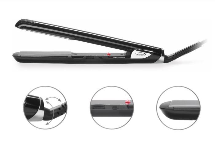 Schwarzkopf Ultron Mach 2 Titanium Straightener schwarzkopf   styling   εργαλεια styling μαλλιων
