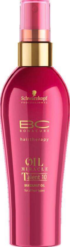 Schwarzkopf Professional BC Brazilnut Oil Talent 10 100ml schwarzkopf   περιποιηση   για όλους τους τύπους μαλλιών   bc oil miracle