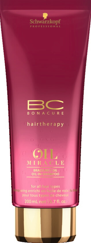 Schwarzkopf Professional BC Brazilnut Oil Oil-in-Shampoo 200ml schwarzkopf   περιποιηση   για όλους τους τύπους μαλλιών   bc oil miracle