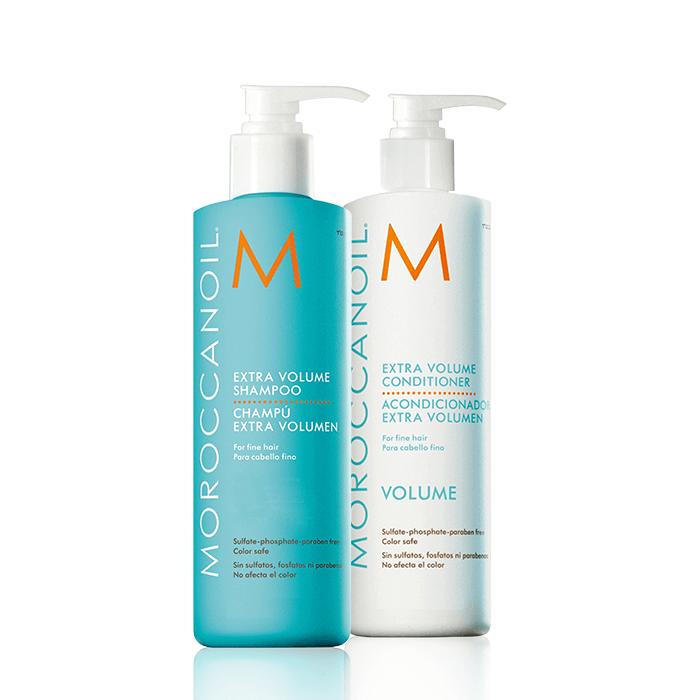 Moroccanoil - Extra Volume Shampoo & Conditioner Offer