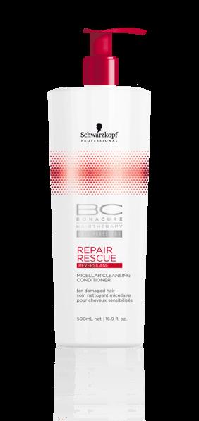 Schwarzkopf BC Repair Rescue Cleansing Conditioner 500ml schwarzkopf   περιποιηση   ταλαιπωρημένα εξασθενημένα μαλλιά   bc repair rescue