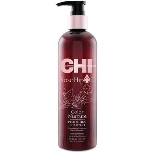 CHI Rosehip Oil Protecting Shampoo 340ml chi   περιποιηση   βαμμένα μαλλιά   rosehip oil
