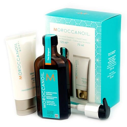 Moroccanoil Oil Treatment 125ml & Hand Cream 75ml moroccanoil   περιποιηση   για όλους τους τύπους μαλλιών