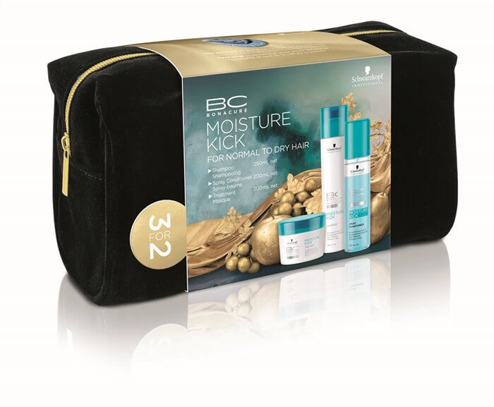 Schwarzkopf Professional BC Moisture Kick Offer (Shampoo 250ml + Masque 200ml +  christmas offers   schwarzkopf   περιποιηση   κανονικά έως ξηρά μαλλιά σγουρά