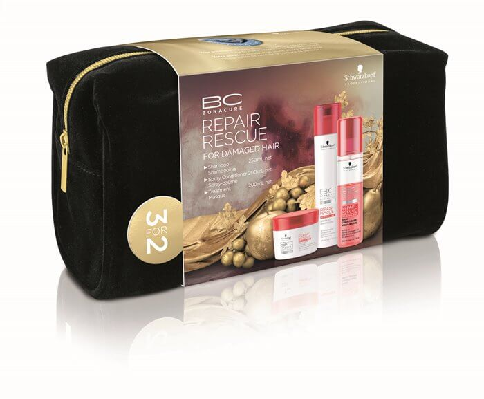 Schwarzkopf Professional BC Repair Rescue Offer ( Shampoo 250ml+ Masque 200ml+ S christmas offers   schwarzkopf   περιποιηση   ταλαιπωρημένα εξασθενημένα μαλλιά