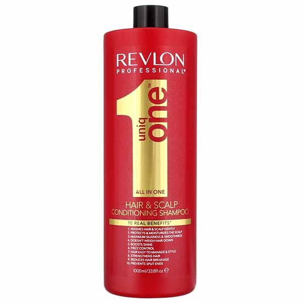 Uniq One All in One Conditioning Shampoo 1000ml uniq one revlon   περιποίηση