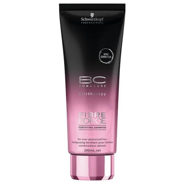 Schwarzkopf Professional BC Fibre Force Shampoo 200ml schwarzkopf   περιποιηση   ταλαιπωρημένα εξασθενημένα μαλλιά   bc fibre force