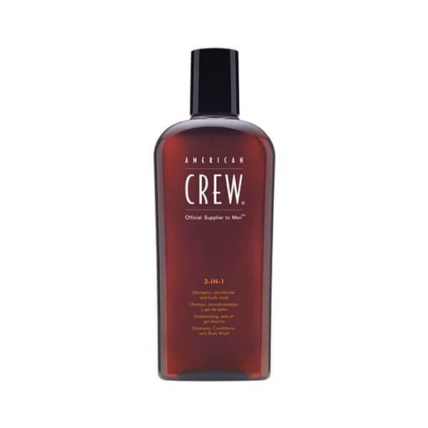 American Crew 3 - in 1 Shampoo-Conditioner-Bodywash 450ml american crew   περιποιηση