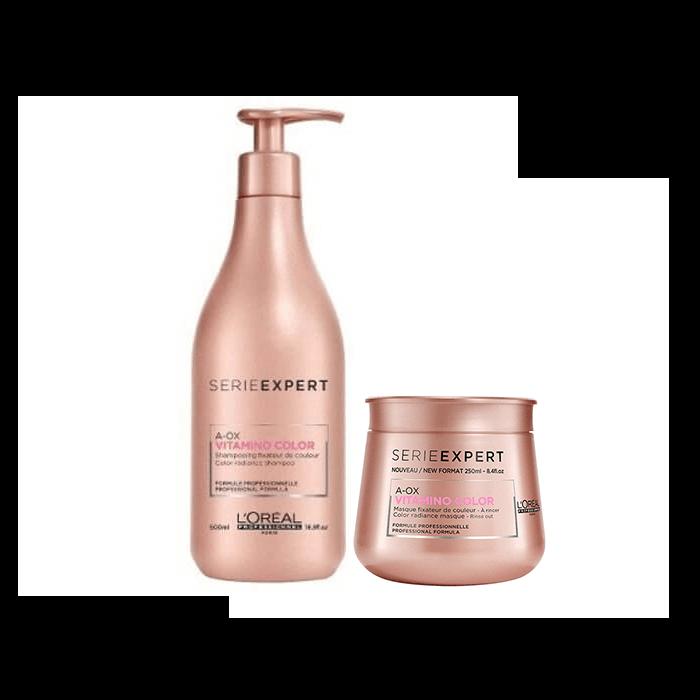 L'Oréal Professionnel Vitamino Color Offer(Σαμπουάν 500ml+Μάσκα 250ml) l or al professionnel   βαμμένα μαλλιά   l or al professionnel vitamino color